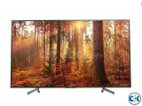 Sony Bravia X8000G 65-Inch 4K UHD Internet LED TV