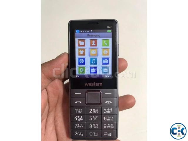 Western D46 4 Sim Mobile Phone with 1 Year Warranty | ClickBD large image 1