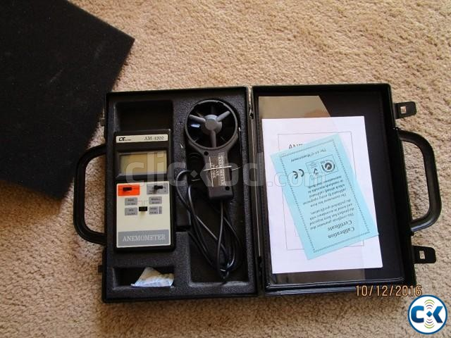 Lutron AM-4202 Electronic Digital Anemometer in Bangladesh | ClickBD large image 1