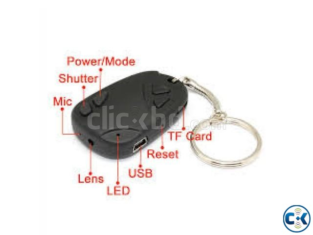 Key Ring Video Recorder | ClickBD large image 3