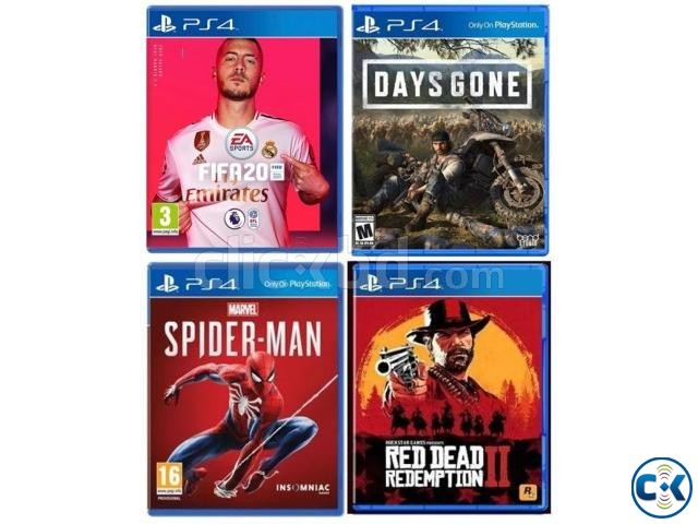 PS4 all Games available best price with exchange offer | ClickBD large image 1