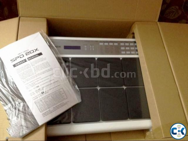 Brand New Intact ROLAND SPD-20X Pad Professional  | ClickBD large image 1