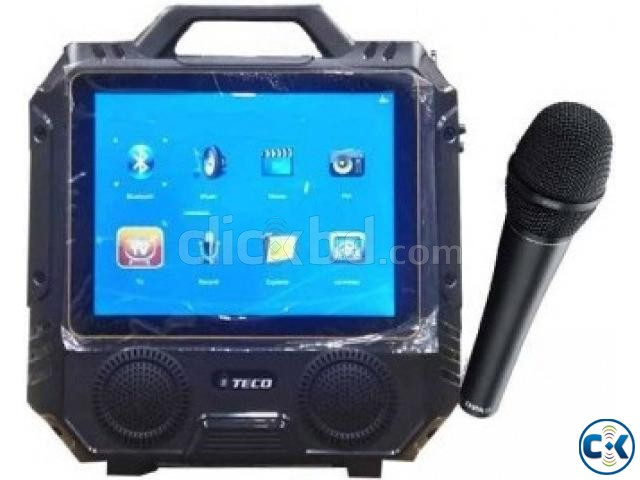 TECO T13 karaoke player has 14 inch tv Sound System | ClickBD large image 0
