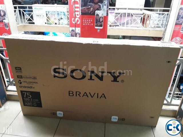 Sony Bravia 75 Inch X8000G 4K HDR Smart Voice Search TV | ClickBD large image 3