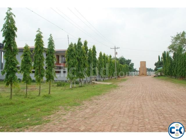 Ashulia Model Town plot for sale | ClickBD large image 0