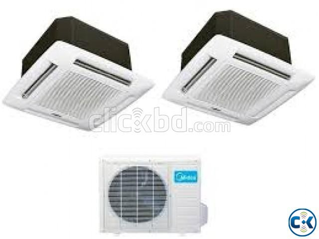 Midea Cassette type Celling Type Brand New 3 Ton AC s | ClickBD large image 0