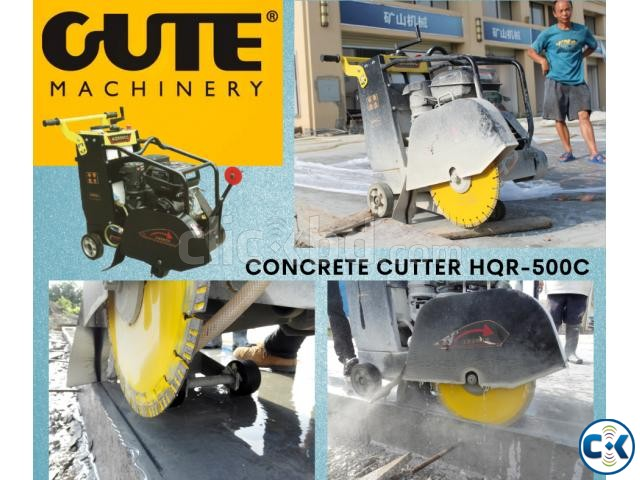 CONCRETE ROAD CUTTER MACHINE HQR500C | ClickBD large image 0