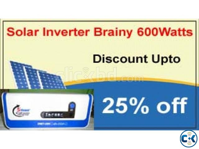 SOLAR INVERTER 600W ONLY MACHINE | ClickBD large image 0