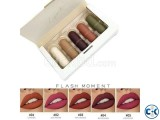 FLASH MOMENT Pocket Capsule 5 in 1 Mini Lipstick Kit