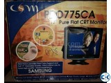 Fresh Box conditionSamsung 17 flat CRT Monitor pro 775ca