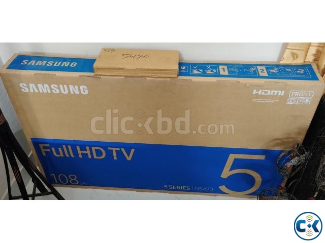 Samsung 43 FHD smart tv N5470 brand new with warranty | ClickBD large image 0