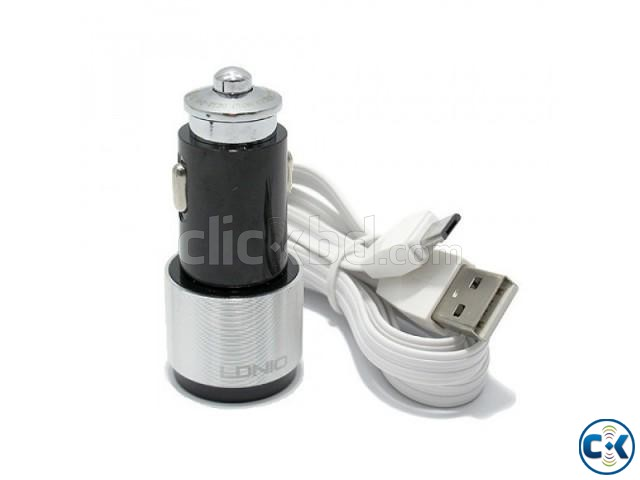 LDNIO C4303 Dual USB Port 4.2A Quick Car Charger with Androi | ClickBD large image 1