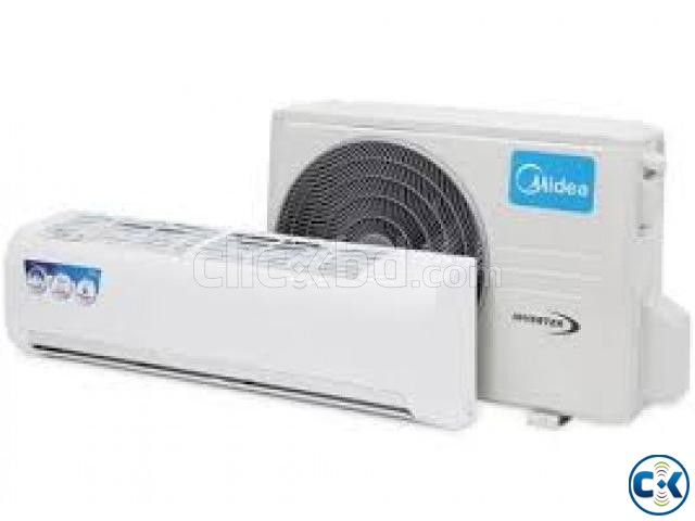 BRAND NEW ORIGINAL MIDEA 1.5 TON HOT COOL Inverter AC | ClickBD large image 1