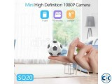 SQ20 Mini Football Camera 720P shooting Mini Camera support