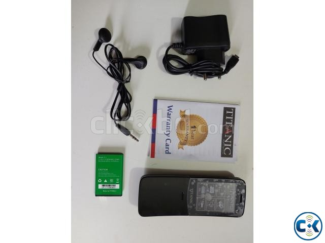 Titanic T7 Banana phone Dual Sim With Warranty | ClickBD large image 2
