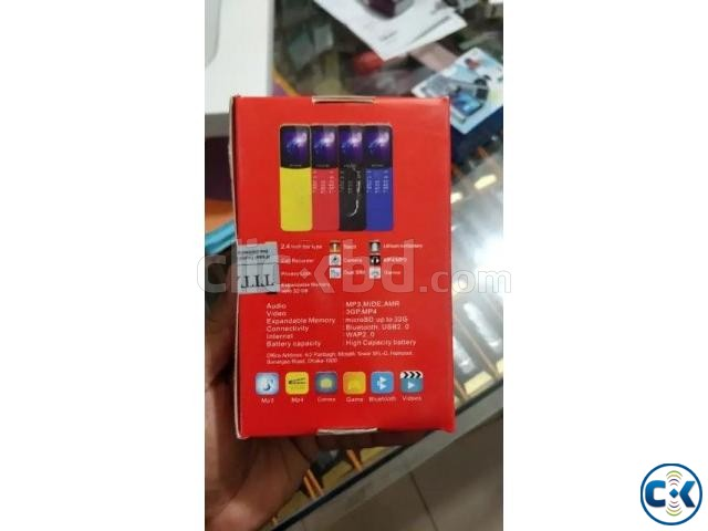 Titanic T7 Banana phone Dual Sim With Warranty | ClickBD large image 3