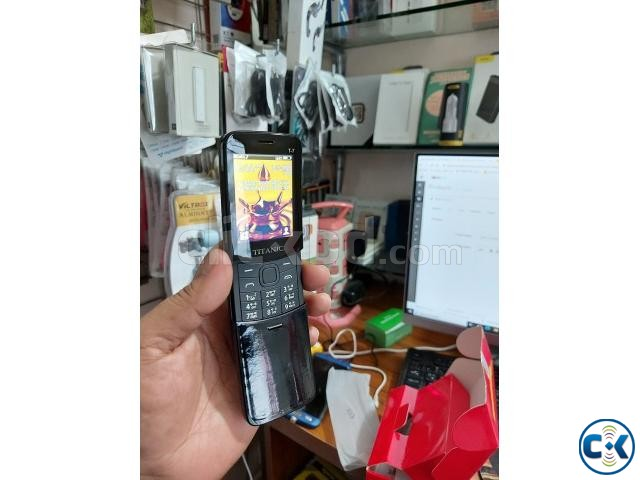 Titanic T7 Banana phone Dual Sim With Warranty | ClickBD large image 4