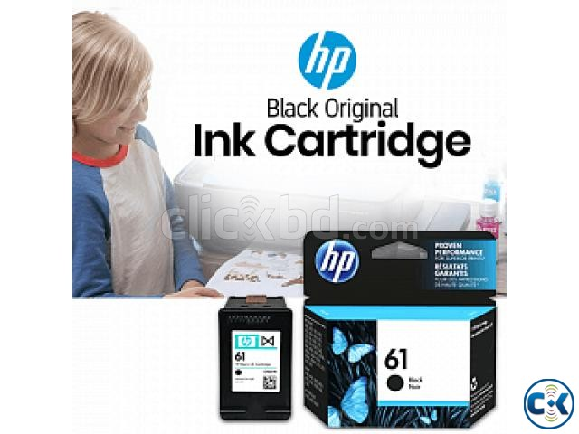 HP 61 Black Original Ink Cartridge CH561WA  | ClickBD large image 0