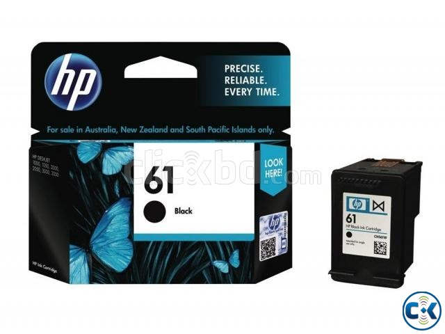 HP 61 Black Original Ink Cartridge CH561WA  | ClickBD large image 2