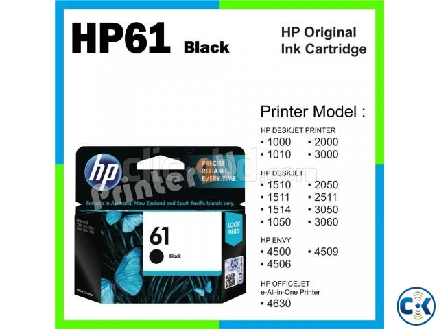 HP 61 Black Original Ink Cartridge CH561WA  | ClickBD large image 4