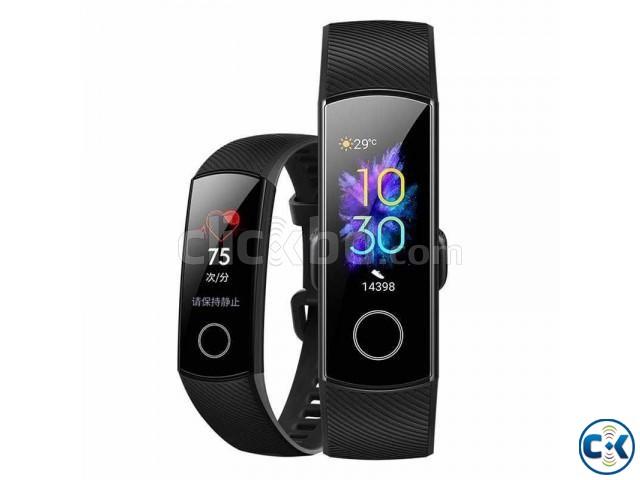 Huawei Honor Band 5 Waterproof fitness Tracker Original | ClickBD large image 0