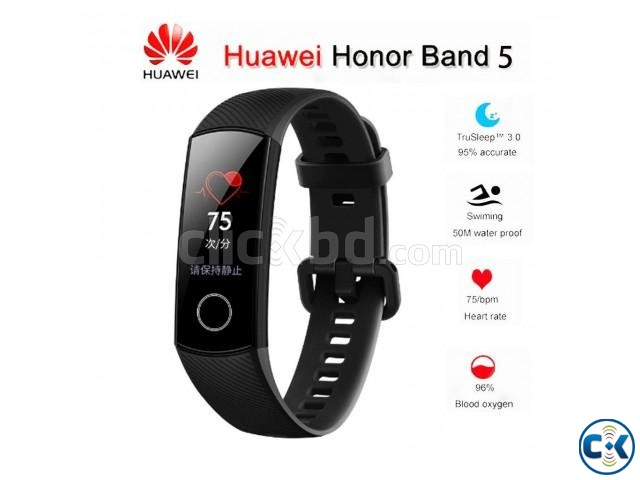Huawei Honor Band 5 Waterproof fitness Tracker Original | ClickBD large image 1