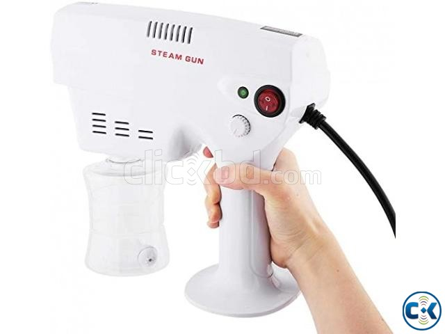 Professional Blue LED light Alcohol Sterilizer Mist Spray Gu | ClickBD large image 1