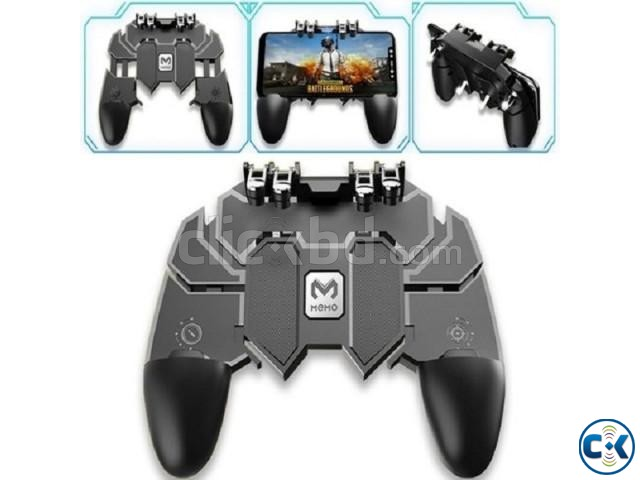 AK66 Six Fingers PUBG Game Controller Gamepad Metal Trigger | ClickBD large image 0