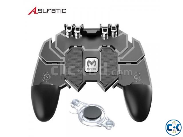 AK66 Six Fingers PUBG Game Controller Gamepad Metal Trigger | ClickBD large image 1