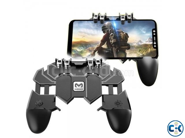 AK66 Six Fingers PUBG Game Controller Gamepad Metal Trigger | ClickBD large image 2
