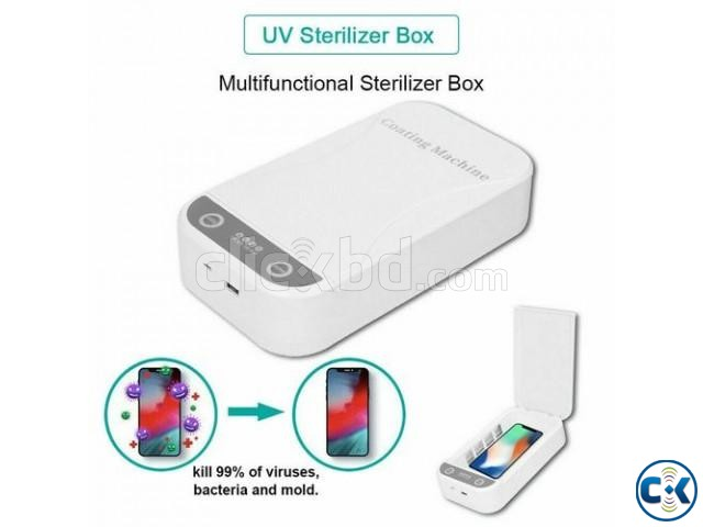UV Sterilizer Disinfection Box | ClickBD large image 1