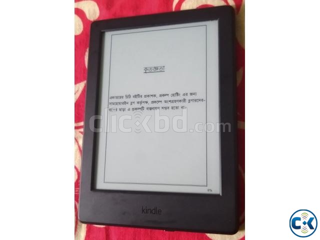 Kindle Basic E-Book Reader 6 inch fresh condition 4500tk | ClickBD large image 2