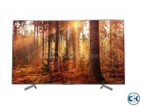 65 INCH SONY X8500G SMART 4K HDR TV GENUINE PRODUCT