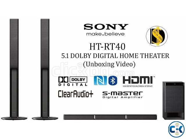 Sony HT-RT40 Sound Bar 5.1 best price in bd 600Watt | ClickBD large image 0