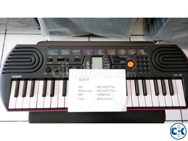 Brand New Casio SA-76 78  | ClickBD large image 1