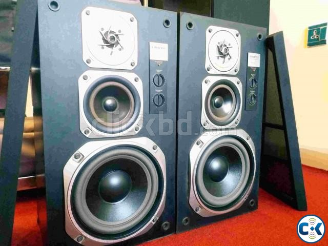 ONKYO SC 402 3 WAY SPEAKER SYSTEM. | ClickBD large image 0
