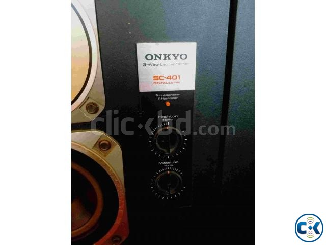 ONKYO SC 402 3 WAY SPEAKER SYSTEM. | ClickBD large image 1