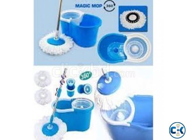 Microfibre Spin Mop | ClickBD large image 1