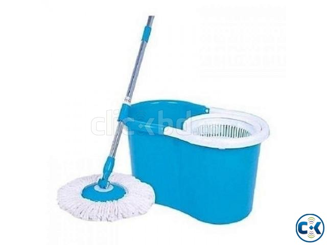 Microfibre Spin Mop | ClickBD large image 2