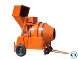 Concrete Cement Mixer Machine with Tipping Hopper