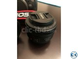 Canon 70D Camera With 18-135mm Lens