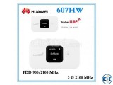 HUAWEI 607HW 4G LTE Pocket Wi-Fi Router