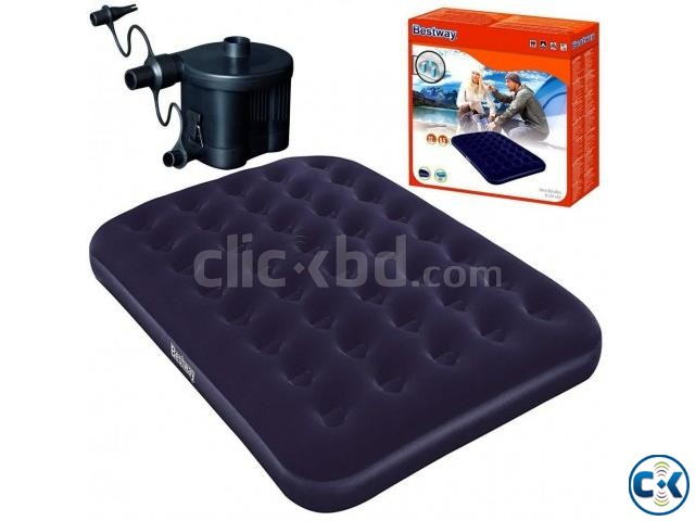 Bestway Double Air Bed Free Pumper | ClickBD large image 0