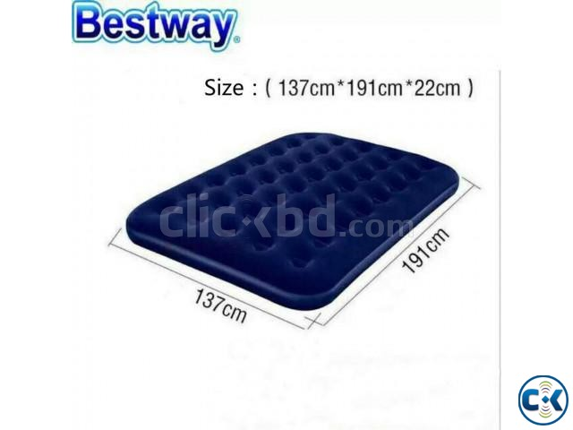 Bestway Double Air Bed Free Pumper | ClickBD large image 2