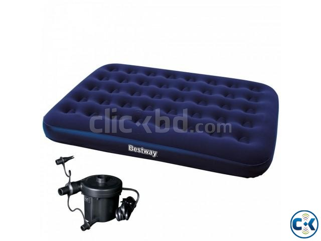 Bestway Double Air Bed Free Pumper | ClickBD large image 3