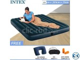 intex Double Air Bed With Electric Pummer