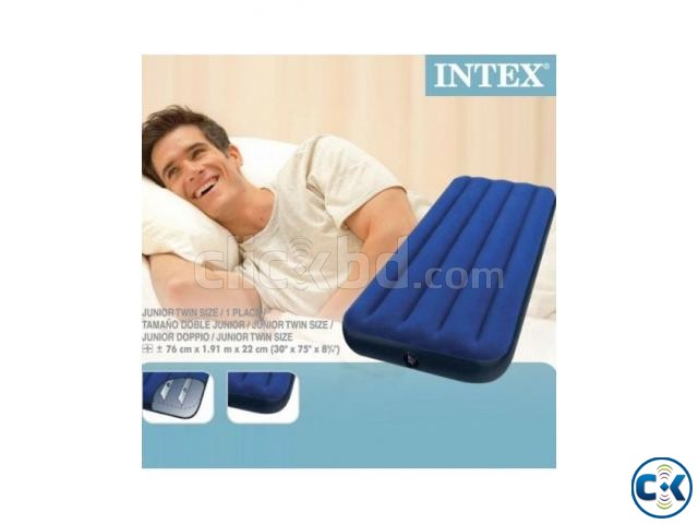 intex Single Air Bed Free Pumper | ClickBD large image 2