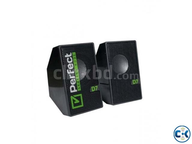 Perfect D7 Multimedia 2.0 Speaker | ClickBD large image 0