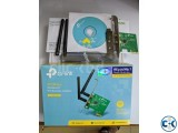 TP-Link TL-WN881ND N300 PCI-E WiFi Adapter