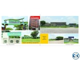 Ready plot For sale Green model town